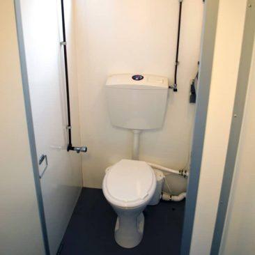 Royaal en verwarmd toilet