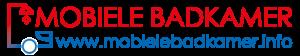 Tijdelijke douchecabine kopen, het mobielebadkamer.info logo